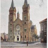 Romania, Temesvar, Timisoara, cp. circulata 1904: Biserica Millenium