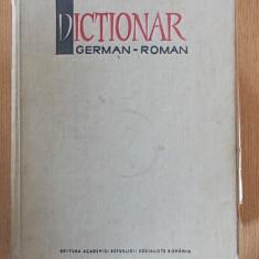 DICTIONAR GERMAN-ROMAN- ISBASESCU, ILIESCU- cartonata, 1172 pagini - Curs Limba Germana Altele