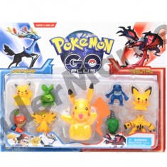 Set 9 figurine Pokemon Go - Figurina Desene animate