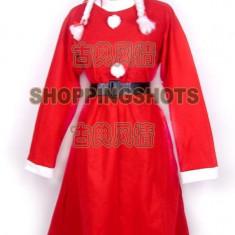 Costum de Craciunita pentru femei - Costum Mos Craciun