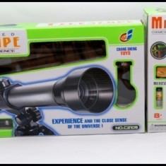 Set telescop si microscop pentru copii - Jocuri Stiinte