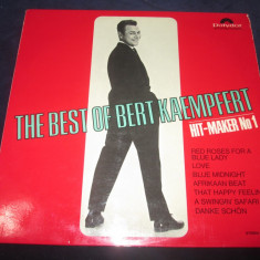 Bert Kaempfert ‎– The Best Of Bert Kaempfert_vinyl, Lp, Germania easy-listening - Muzica Jazz Altele, VINIL