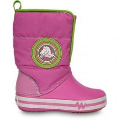 Cizme pentru copii Crocs Light Gust Boot Party Pink (CRC13900-VARX ) - Cizme copii Crocs, Marime: 25.5, 27.5, Culoare: Roz