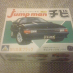 Toyota Celica - AOSHIMA Jump man No 2 - MODEL KIT - Macheta auto 1:87