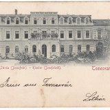 Romania, Temesvar, Timisoara, Josefini, cp. circulata 1898: Manastirea