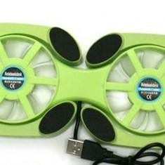 Mini USB cooler pliabil pentru laptop