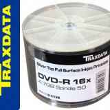 DVD-R TRAXDATA INKJET PRINTABILE 16X 4, 7GB