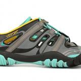 Vibram Women's TrekSport Sandal - Adidasi dama, Culoare: Gri, Marime: 37, Textil