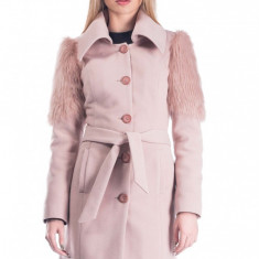 Palton Ariela - Palton dama Raspberry, Marime: 42, 40, 38, 36