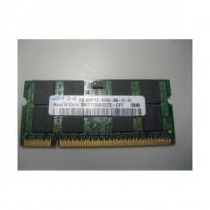 Memorie laptop 2GB DDR2 Samsung 2Rx8 PC2-6400S-666-12-E3 - Memorie RAM laptop
