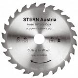 Disc debitare lemn pentru ferastrau circular Stern SBT210/24 - Fierastrau circular