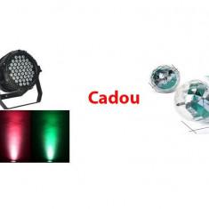 Proiector joc de lumini Par Light Cadou Lampa multicolora rotativa - Lumini club