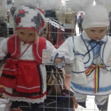 Costum popular bebe