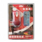 Kit mouse optic, casca, hub USB