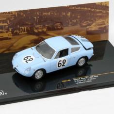 Macheta Simca Abarth 1300#62 - Le Mans 1962 - IXO scara 1:43