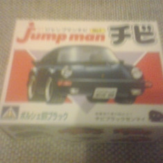 Porsche 911 S - AOSHIMA Jump man No 1 - MODEL KIT - Macheta auto 1:87