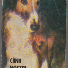 (C7069) ZOE DUMITRESCU BUSULENGA, NICOLESCU - CAINII NOSTRI, BULETIN DOCUMENTAR - Carte Zoologie