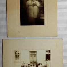 FOTOGRAFII VECHI - SCOLARI DIFERITE VARSTE - LOCALITATE SASEASCA NEIDENTIFICATA