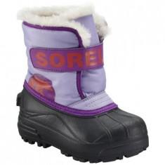 Sorel SNOW COMMANDER CHILDRENS - Cizme copii Sorel, Fete, Cauciuc