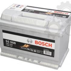 Baterie, acumulator 77 AH Bosch Silver - Baterie auto Bosch, Universal