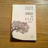 VINTILA HORIA - Sfirsit de Exil * nuvele - Jurnalul Literar, 2001, 221 p.