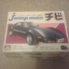 Chevrolet Corvette Stingray - AOSHIMA Jump man No 5 MODEL KIT Macheta auto 1:87