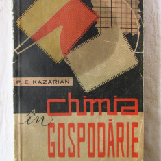 """CHIMIA IN GOSPODARIE"", P. E. Kazarian, 1961"