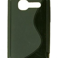 Husa TPU silicon Samsung S3350 Chat 335 negru - Husa Telefon