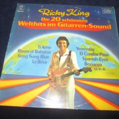 Ricky King – Die 20 Schönsten Welthits Im Gitarrensound _ vinyl, LP, Olanda - Muzica Rock epic, VINIL