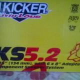 Set difuzoare componenete rotunde KICKER KS5.2 5.25''  134mm