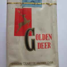 Rar! Pachet nou in tipla tigari chinezesti colectie,, Golden Deer'' din anii 80
