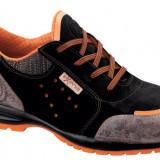 Pantofi de protectie GOLD - Pantofi barbat, Marime: 40, 41, 42, 43, 44, 45, Culoare: Orange, Piele naturala, Sport