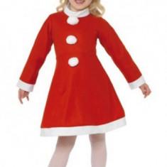 Costum de Craciunita, pentru fetita - Costum Mos Craciun