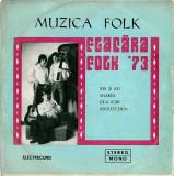 "Flacara Folk '73 - Ieri Si Azi / Visarea / De-a Icar / Adolescenta (7"")"