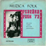 "Flacara Folk '73 - Ieri Si Azi / Visarea / De-a Icar / Adolescenta (7""), VINIL, electrecord"
