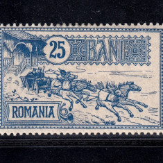 CAISORII 1903 - 25 BANI NECIRCULAT MLH, Nestampilat