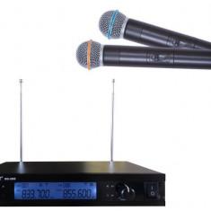Set microfoane wireless cu receiver WVNGR WG-2009 - Microfon