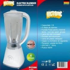 Blender electronic Victronic 450W VC-995, 400 W, De masa