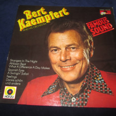 Bert Kaempfert & His Orchestra ‎– Famous Sound_vinyl(LP)Germania easy listening - Muzica Jazz Altele, VINIL