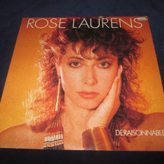 Rose Laurens ‎– Déraisonnable... _ vinyl(LP, album) Franta synth-pop - Muzica Dance Altele, VINIL