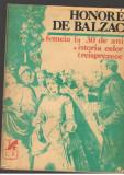 (C7093) HONORE de BALZAC - FEMEIA LA 30 DE ANI. ISTORIA CELOR TREISPREZECE, 1981