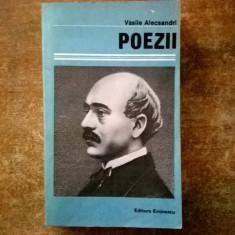 Vasile Alecsandri – Poezii - Carte poezie copii