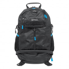 Rucsac laptop Manhattan Trekpack 17 inch negru / albastru