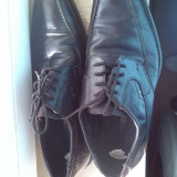 Pantofi barbati piele naturala marime 41, Culoare: Maro