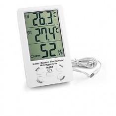 Termometru TA298 cu ceas