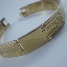 Bratara Barbati placata aur 18k cod 1610BB004 - Bratara placate cu aur