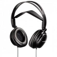 Casti Thomson HED2112BK Seniors Black, Casti On Ear, Cu fir, Mufa 3, 5mm