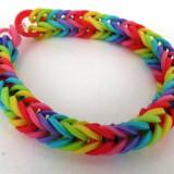 Rainbow Loom bratari 400 piese