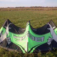 Kitesurf, kite Best Nemesis HP 2008, 9m+bara si linii - Kitesurfing