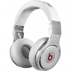 Casti Beats Pro white Monster Beats by Dr. Dre, Casti On Ear, Cu fir, Mufa 3, 5mm, Active Noise Cancelling